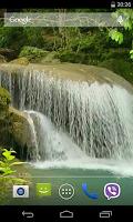 Screenshot of Tropical waterfall Video LWP