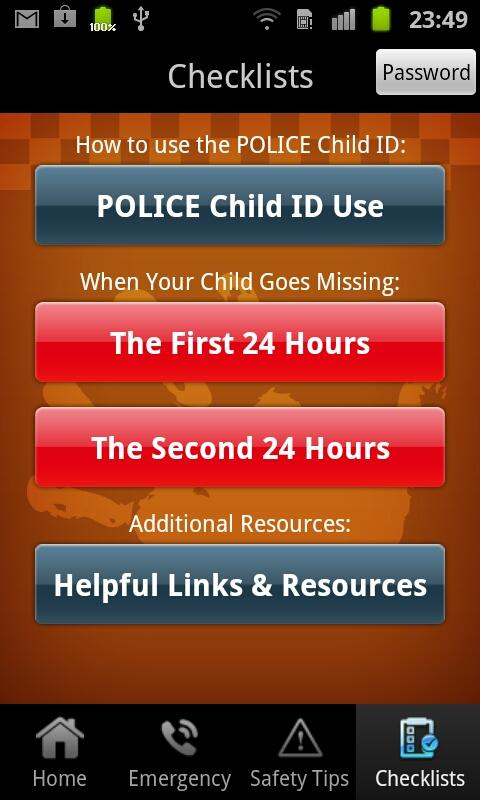 Police Child ID - screenshot