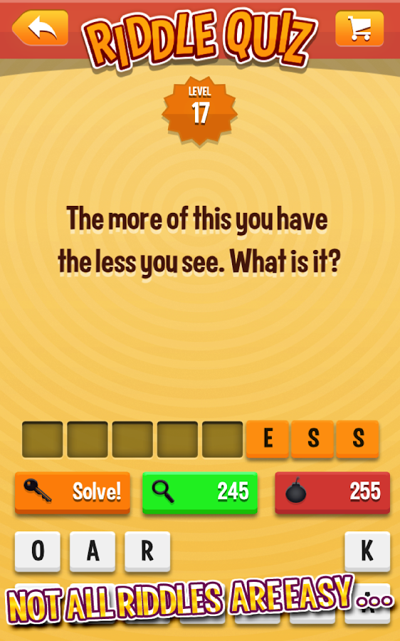 Riddle Quiz- screenshot