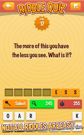 Riddle Quiz 1.0.6 screenshot 555417