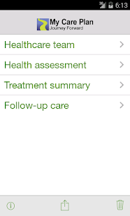 My Care Plan (cancer survivor)- screenshot thumbnail