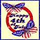 Fourth of July Butterflies LWP