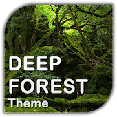Deep Forest Go Launcher theme