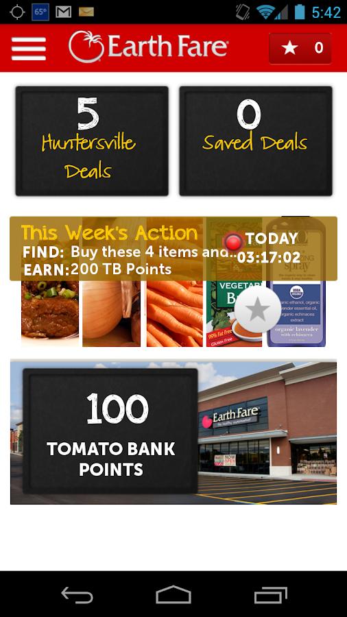 Get Deals from Earth Fare - screenshot