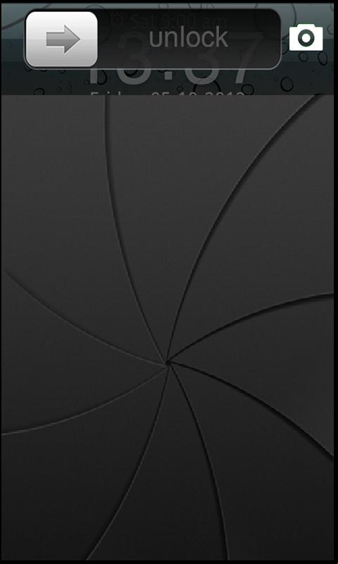 iOS 6 iPhone 5 lockscreen - screenshot