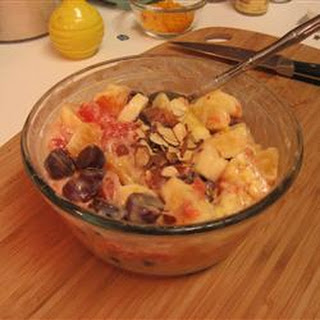 Citrus Salad with Pomegranate Yogurt