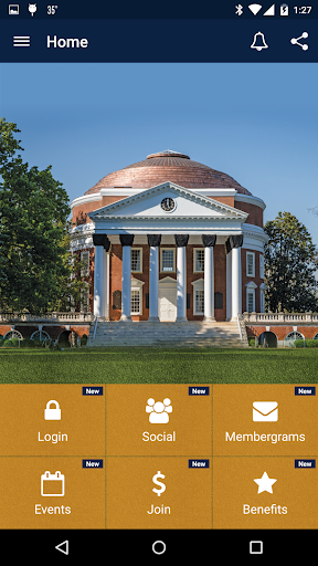 UVA Alumni Member App