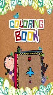 Indian Coloring Book, tablet - screenshot thumbnail