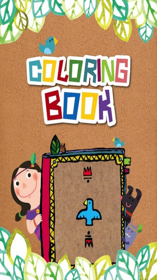 Indian Coloring Book, tablet - screenshot