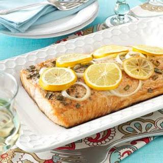 Lemon Grilled Salmon.