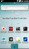 Screenshot of Aeolus HD ADW Theme