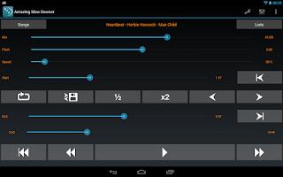 Screenshot of Amazing Slow Downer Lite