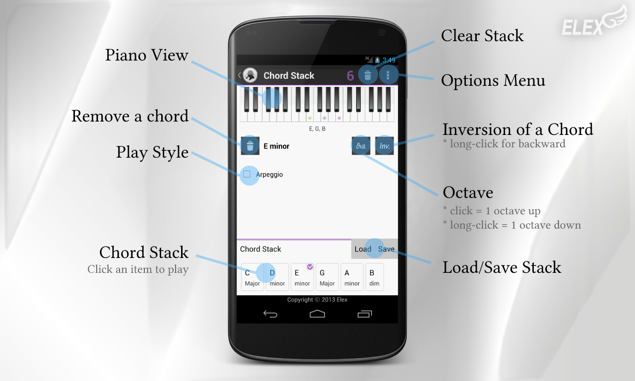 Chord scale finder android apps on google play chord scale finder screenshot hexwebz Image collections
