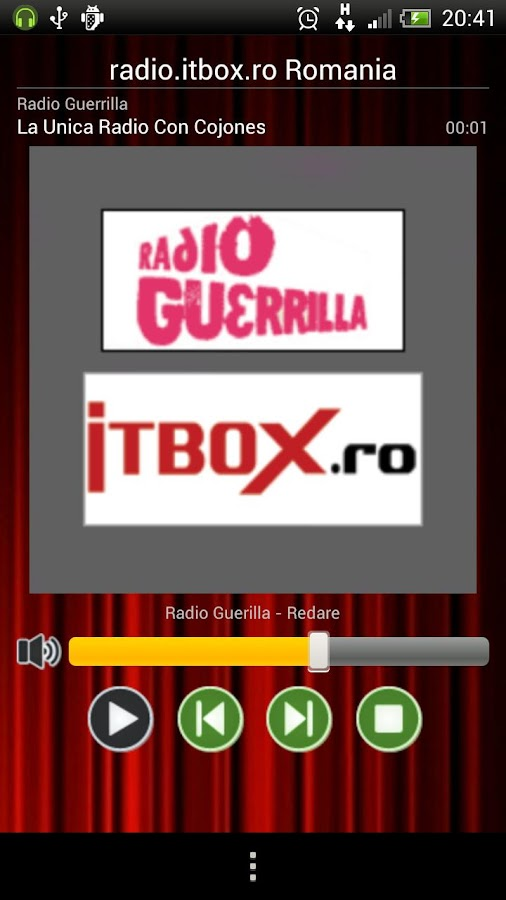 Radio Live itbox.ro- screenshot