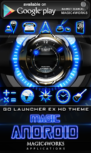 clock widget glow magic|玩娛樂App免費|玩APPs