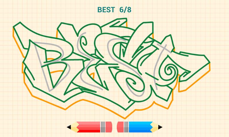 C mo dibujar graffitis aplicaciones android en google play for Graffitis para ninos