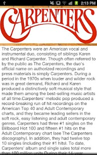 The Carpenters- screenshot thumbnail