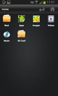 File Selector/Explorer - náhled