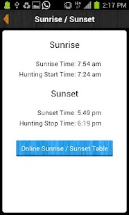 iHunter Alberta screenshot