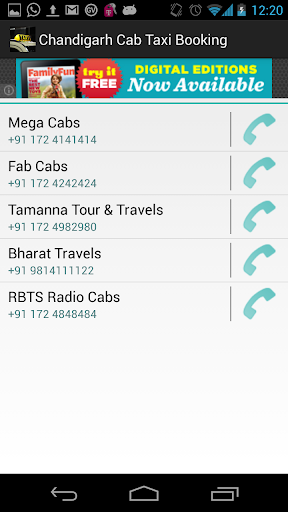 Chandigarh Cab Taxi Booking