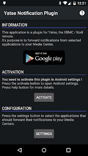 Yatse Notification Plugin - screenshot thumbnail