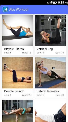 Abs Workout – Sit Ups
