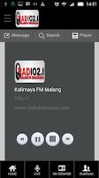 Screenshot of Kalimaya FM Malang