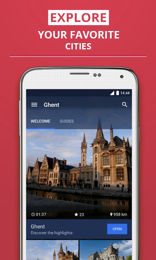 Ghent Premium Guide - screenshot