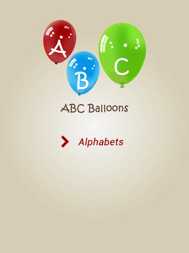 Learn ABC Balloons