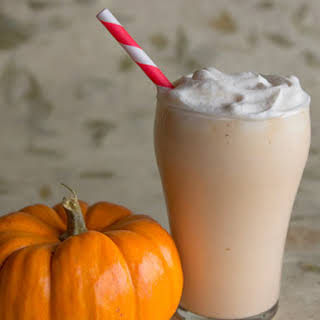 Pumpkin Bourbon Cider Milkshake.