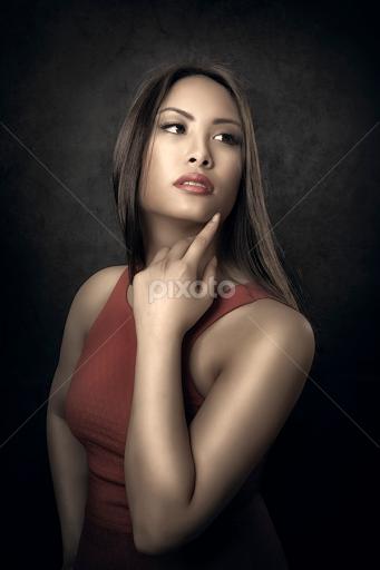 Female asian glamour