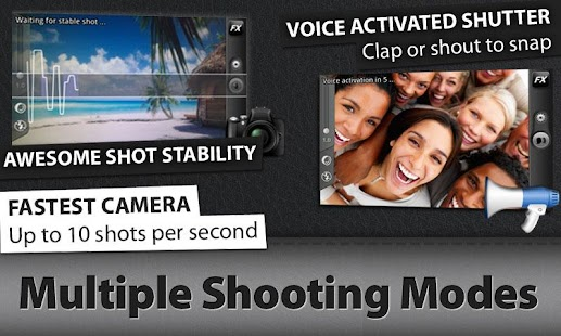 Camera ZOOM FX Premium - screenshot thumbnail