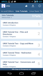 Unix & Linux Reference Guide - screenshot thumbnail