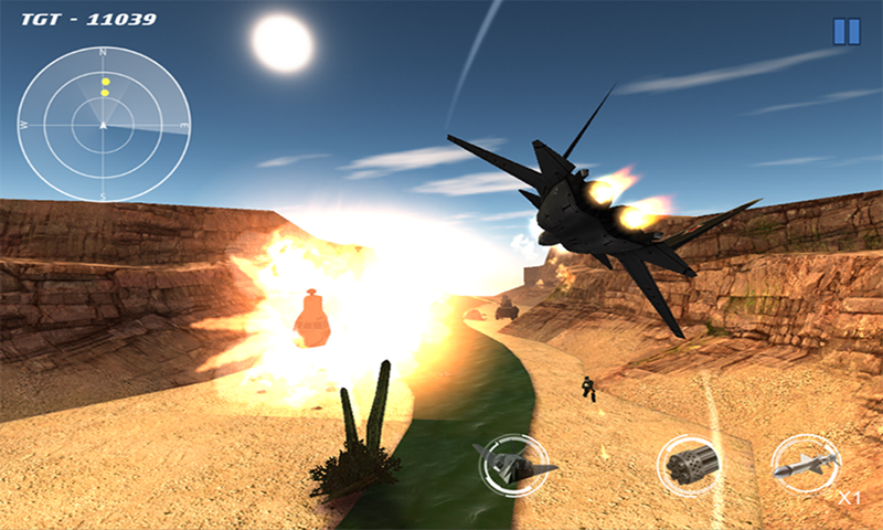 Delta Strike: First Assault- screenshot