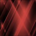 GO SMS Red Tron Theme icon