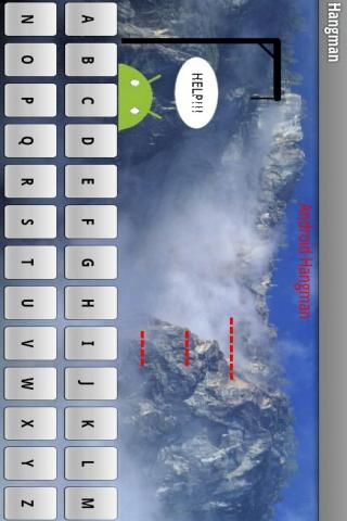 Hangman Game- screenshot