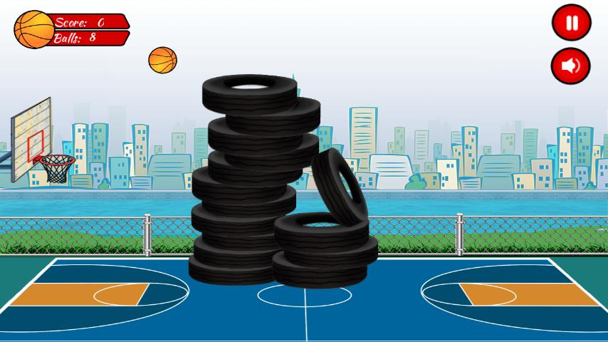 Basketball Hoopslam - screenshot