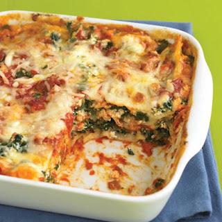 Spinach and Prosciutto Lasagna.