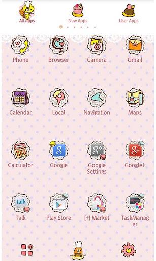 Characters Theme-Sweets Cafu00e9- 1.0 Windows u7528 2
