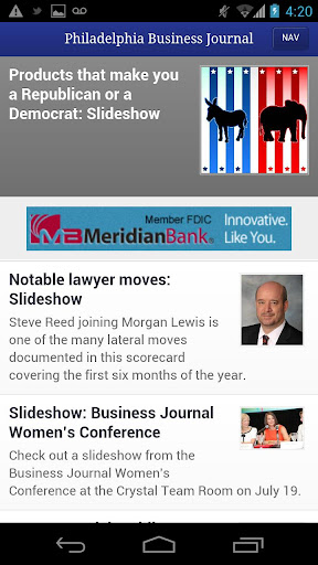 Philadelphia Business Journal  screenshots 1