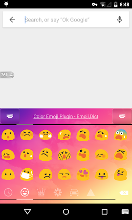 Emoji Keyboard - Dream Cloud 2.0 screenshot 604569