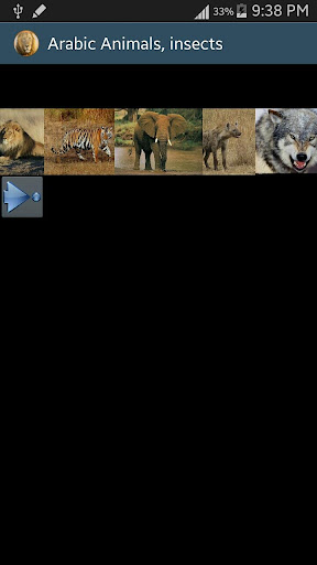 Arabic Picture animals