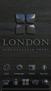Next Launcher Theme London