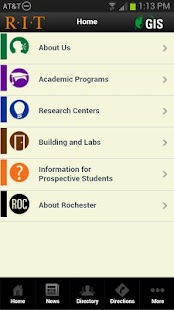 RIT GIS Mobile - screenshot thumbnail