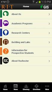 RIT GIS Mobile- screenshot thumbnail
