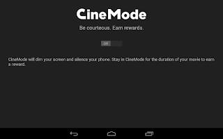 Screenshot of Cinemark Theatres