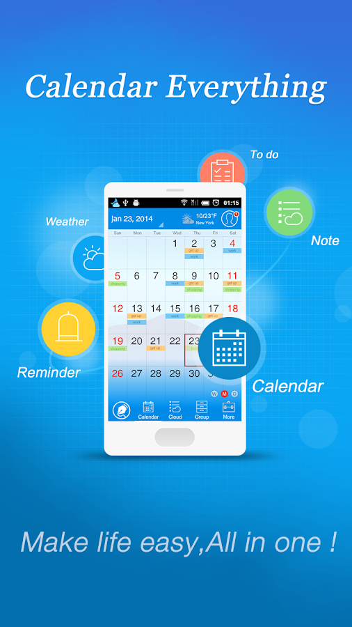 Calendar+  Note Everything - screenshot