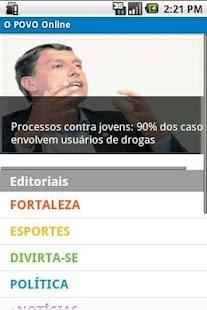 O POVO Online - Smartphone- screenshot thumbnail