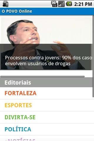 O POVO Online - Smartphone- screenshot
