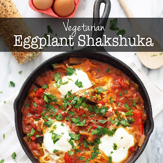 Vegetarian Eggplant Shakshuka